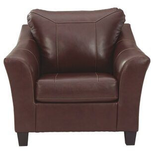 Joille Leatherette Club Chair