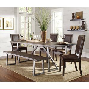 Cocoa 6 Piece Dining Set by Infini Furnis..