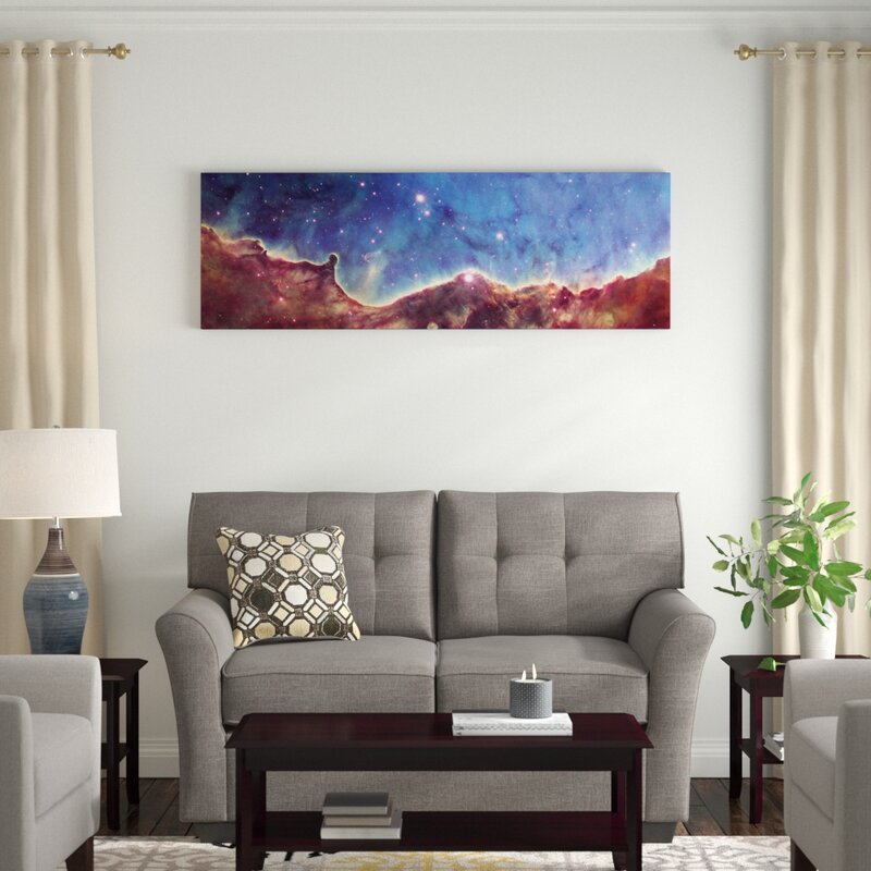East Urban Home Cosmic Landscape Ngc 3324 Nw Corner Of Ngc 3372 Carina Nebula Hubble Heritage Project 10th Anniversary Image Graphic Art On Wrapped Canvas Wayfair