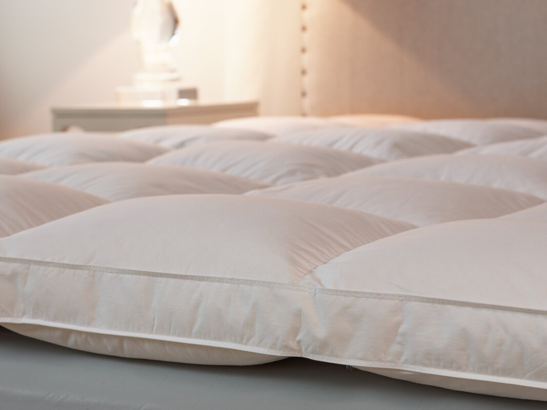 featherbed feather downlinens from bed pic luxury