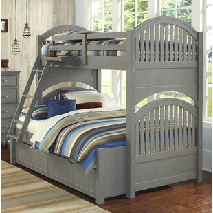 Nickelsville Twin Over Full Bunk Bed with Trundle by Three Posts
