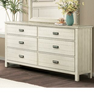 Rosecliff Heights Cole 6 Drawer Dresser