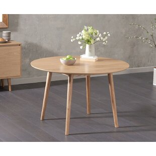 78b50922797f Erdem Round Oak Dining Table