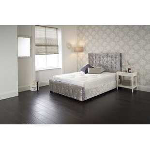 Review Isaias Upholstered Bed Frame