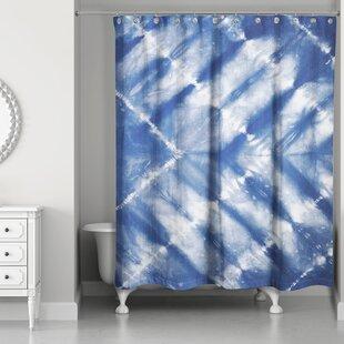 Sonoma Shibori Pattern Shower Curtain