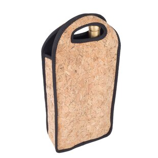 Neoprene Cork Double Wine Bottle Tote