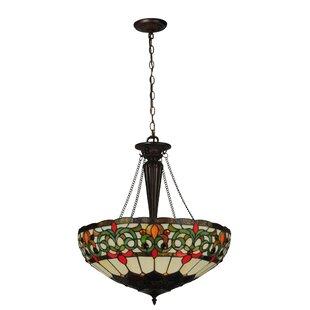 Meyda Tiffany Creole 3-Light Bowl Pendant