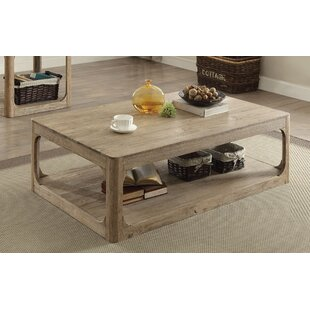 Buy clear Dupre Coffee Table By Rosecliff Heights