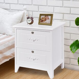 Top Reviews Guisborough 2 Drawer Nightstand by Charlton Home