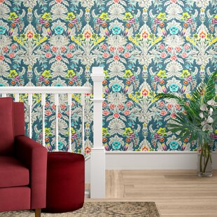 Asuncion Semi-Gloss Peel and Stick Wallpaper Roll
