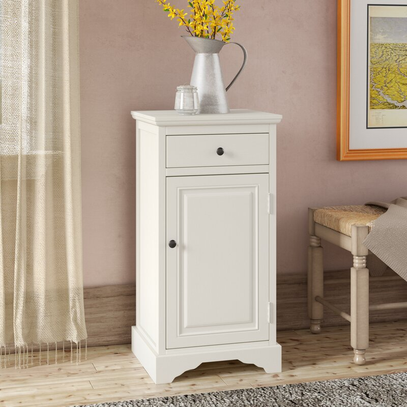 Griffin 1 Door Accent Cabinet by August Grove®
