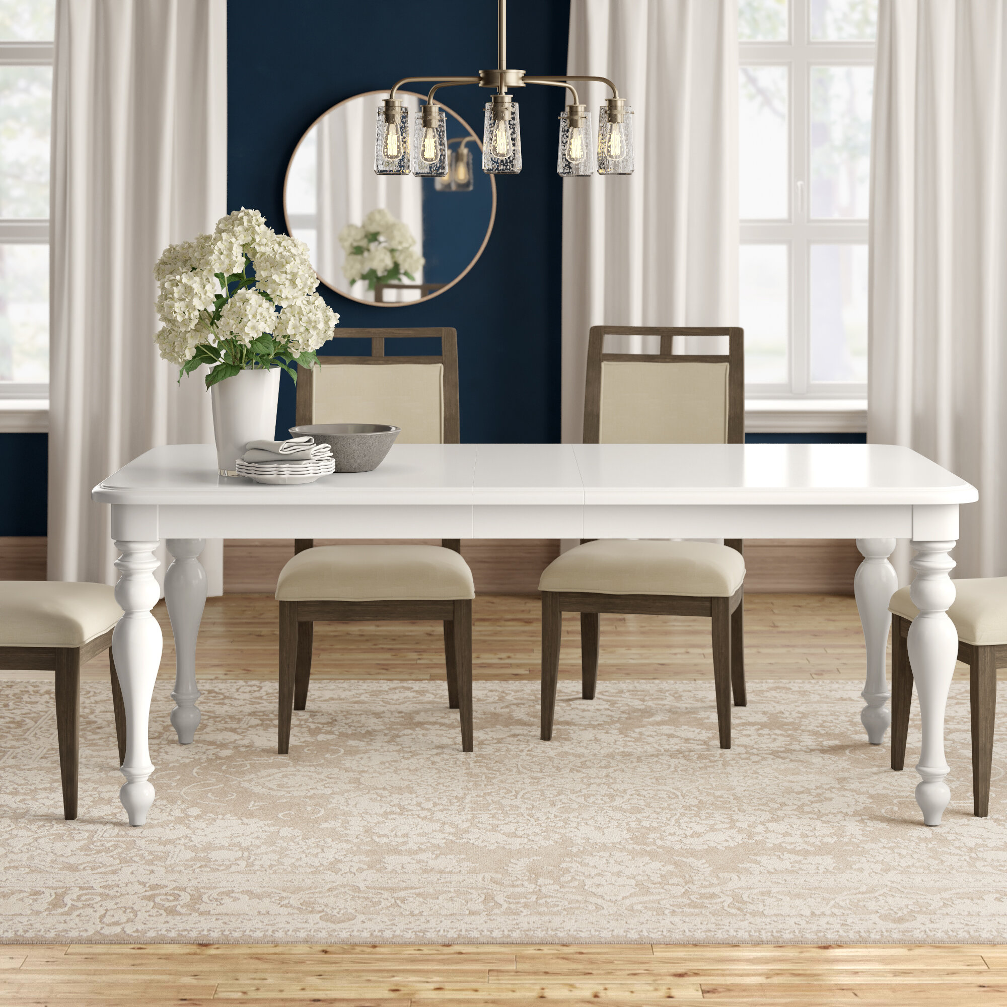 James Extendable Dining Table Reviews Birch Lane,Three Bedroom 3 Bedroom House Designs Pictures