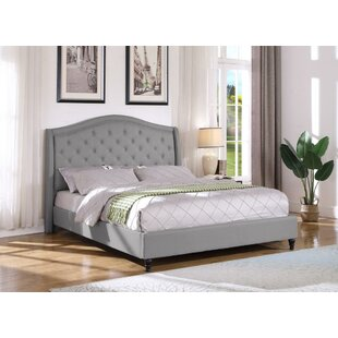 Kirbyville Upholstered Platform Bed by Charlton Home