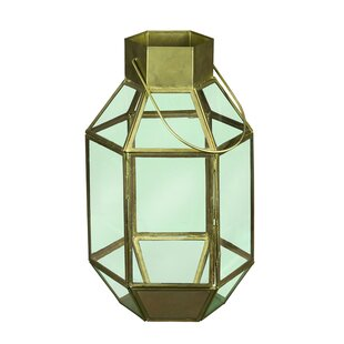 Where buy  Antique Hexagon Metal Lantern By Wrought Studio