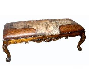 San Sebastian Hardwood Bench by New World Trading