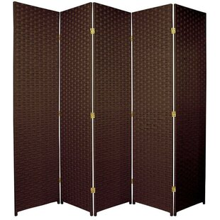 Nikolov 5 Panel Room Divider by Bloomsbury Market