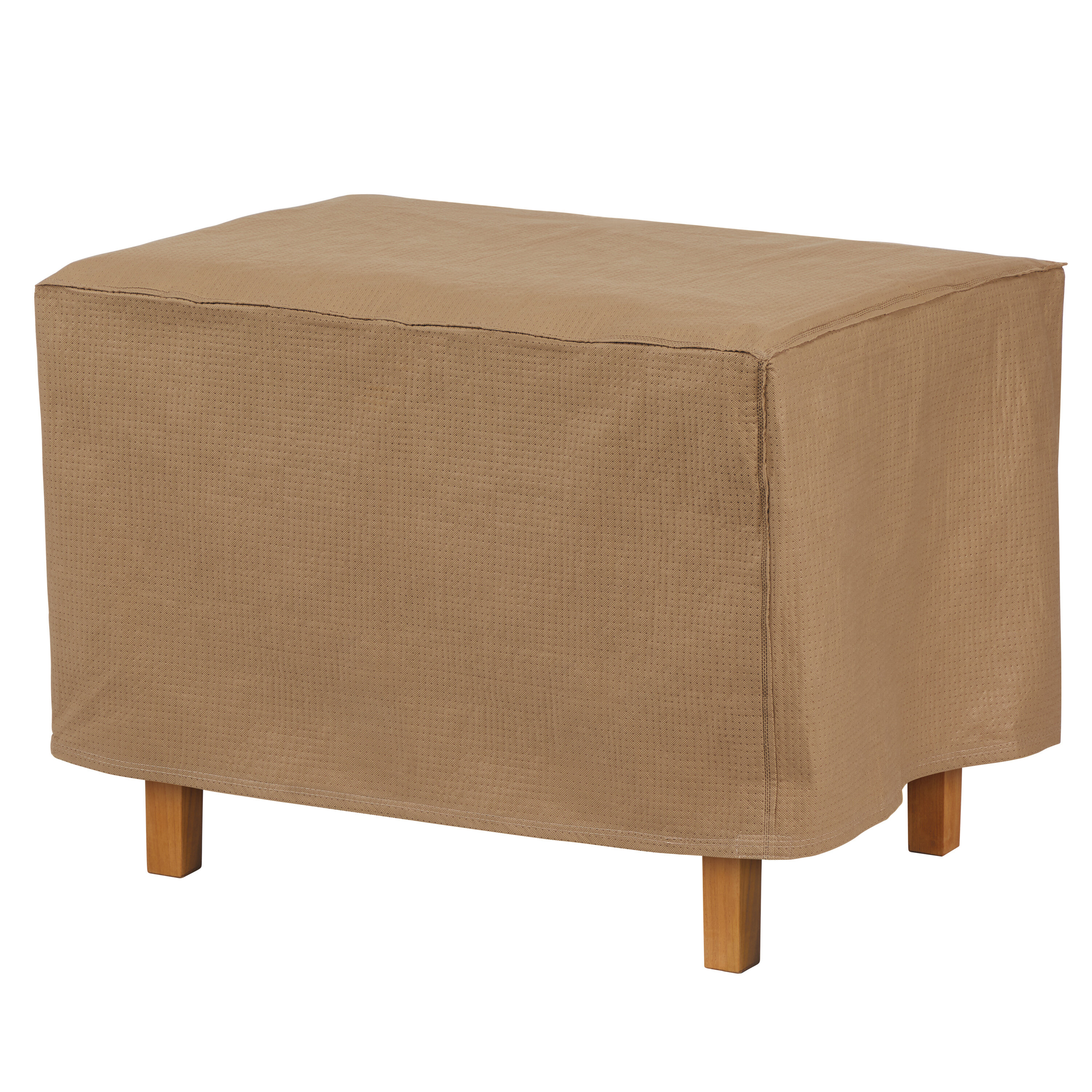Fabulous Rectangle Patio Ottoman Or Side Table Cover Download Free Architecture Designs Scobabritishbridgeorg