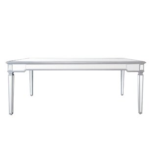 House of Hampton Yuri Mirrored Dining Table