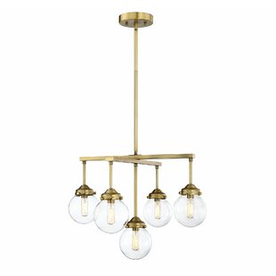 George Oliver Suffield 5-Light Shaded Chandelier