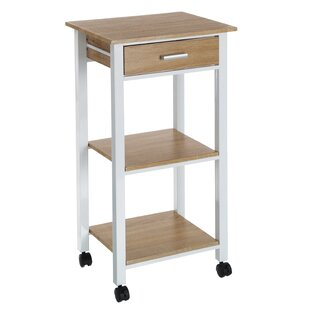 Ohsman Manufactured Wood Kitchen Trolley By 17 Stories