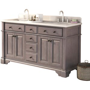 double bathroom vanity. Lori Double Bathroom Vanity Set Vanities  Joss Main