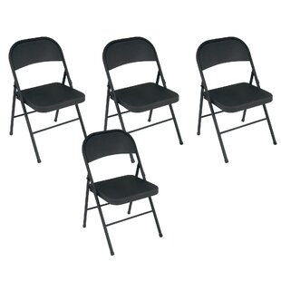 Astounding Metal Folding Chair Set Of 4 Pabps2019 Chair Design Images Pabps2019Com