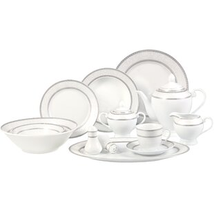 Sirena 57 Piece Dinnerware Set, Service for 8