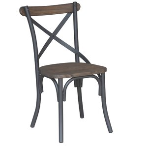 Industrial Solid Wood Dining Chair by !nspire