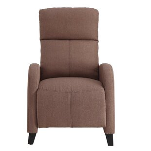 Red Barrel Studio Archie Upholstered Plush Push Back Manual Recliner