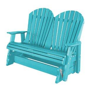 Patricia Plastic/Resin Gliding Adirondack Chair