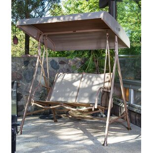 Winston Porter Partington Porch Swing with Stand