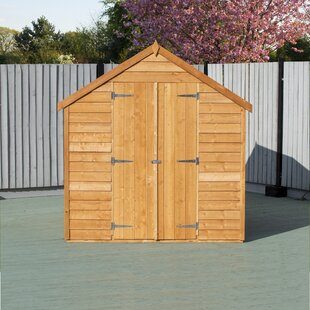 6 Ft. W X 8 Ft. D Garden Shed By WFX Utility