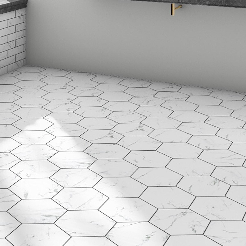 Porcelain Marble Look Wall Floor Tile