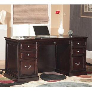 Reviews Robbie Double Pedestal Executive Desk ByDarby Home Co