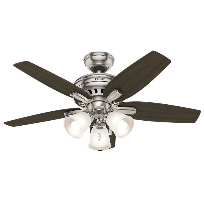 Hunter fan 42 newsome 5 blade ceiling fan reviews wayfair 42 newsome 5 blade ceiling fan mozeypictures Image collections