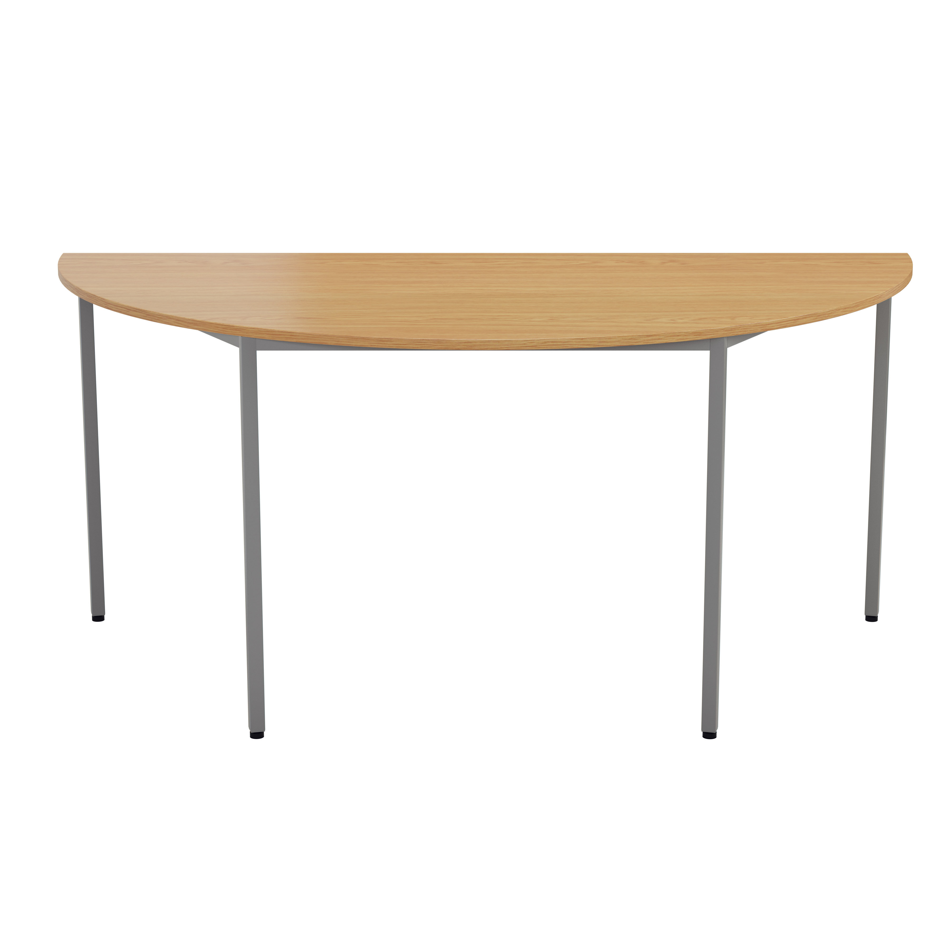 Picture of: 17 Stories Shropshire 1 6m Half Round Conference Table Wayfair Co Uk