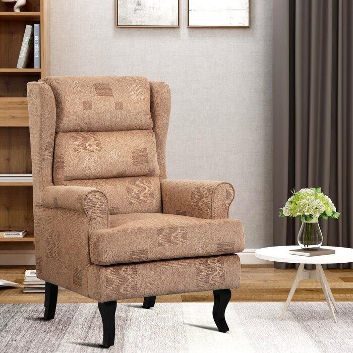 Reber High Back Wingback Chair