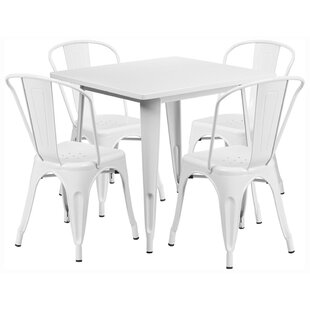 Offex Square 5 Piece Dining Set