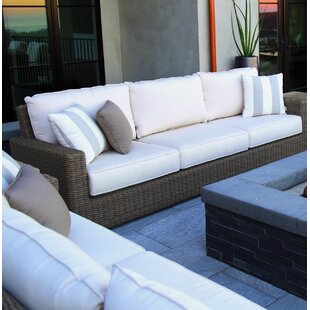 Coronado Sofa with Sunbrella Cushions by Sunset West
