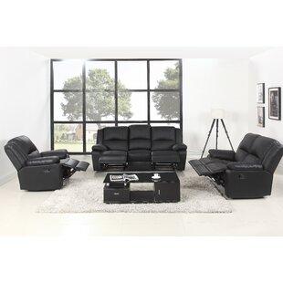 Simpkins Reclining 3 Piece Living Room Set by Latitude Run