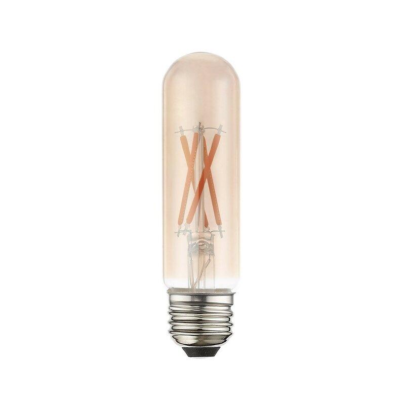 Satco Antique Filament LED 4.5 Watt 2700K E26 Medium base T10 Light Bulb