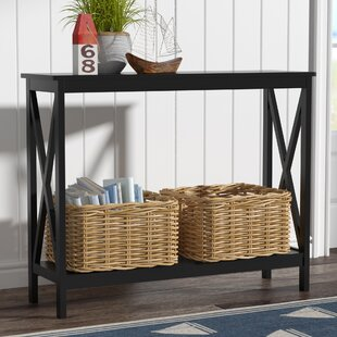 Narrow Storage Console Table Wayfair
