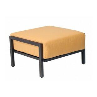 Woodard Salona Ottoman with Cushion