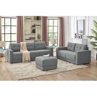 Alberti 3 Piece Living Room Set
