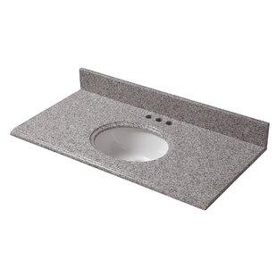 Granite 37 Single Bathroom Vanity Top By Cahaba