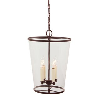 Great choice Charleston 4-Light Outdoor Pendant By JVI Designs