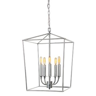 Brayden Studio Cheung 5-Light Foyer Pendent