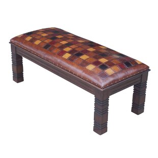 Catania Leather Bench