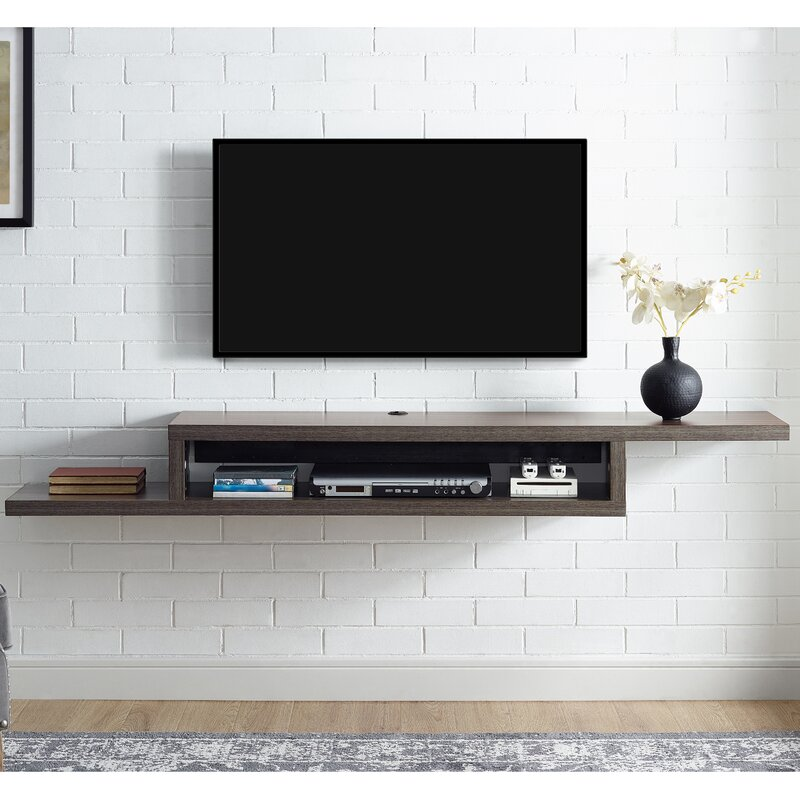 """Furniture For Tv Components: Martin Home Furnishings Ascend 72"""" Asymmetrical Wall"""
