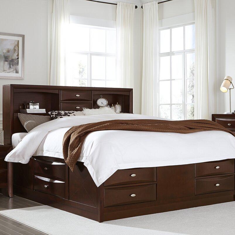 linda storage platform bed